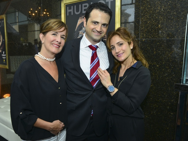 News Shelby Zadok Hublot event Peggy Jagerman, Gilad Zadok, Rachel Branch