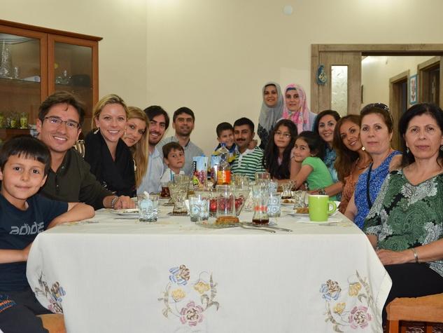 Deborah Elias, Turkey, June 2012, dinner