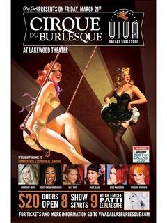 Viva Dallas Burlesque presents Cirque du Burlesque
