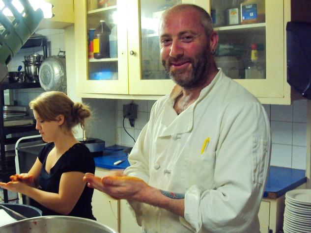 Richard Knight chef Feast