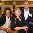 75 Deborah Fronza, from left, Shay Hiner and Art Arnold at the HeartGift photo exhibition May 2014