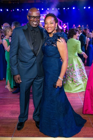 Gerald and Anita Smith at the Circle of Life Gala April 2015