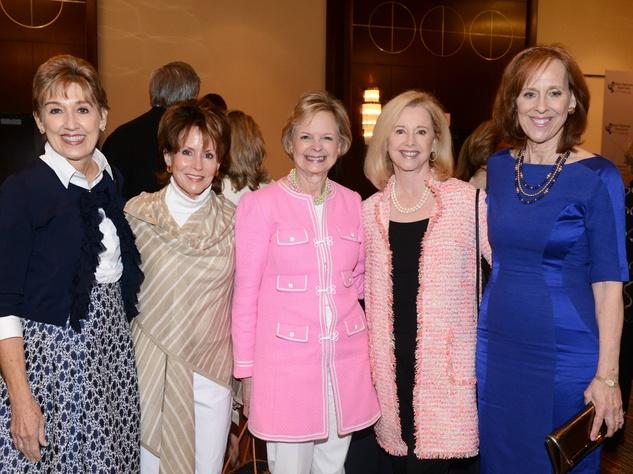 Suzy Gekiere, Barbie Casey, Ellen Dill, Sharon Wall, Susan Farris, Wings Luncheon