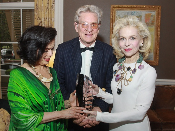 News_Rothko 40th_Bianca Jagger_Robert Thurman_Lynn Wyatt