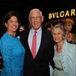 Windi Grimes, from left, with Dr. John Mendelsohn and Anne Mendelsohn