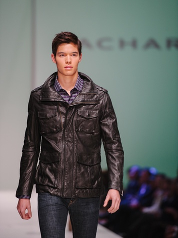 Zachary Prell at Fashion Houston Nov 2013