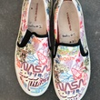 Vivienne Tam Houston collection slip on shoes