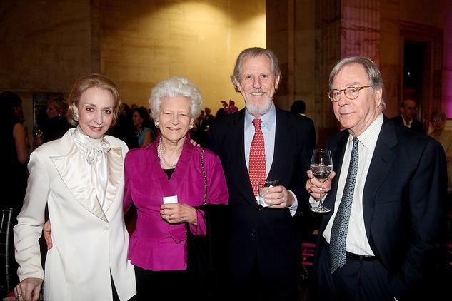 Mimi Kilgore, from left, Janie Lee, Alex di Bagnio and Devid Warren at the Da Camera Gala April 2014