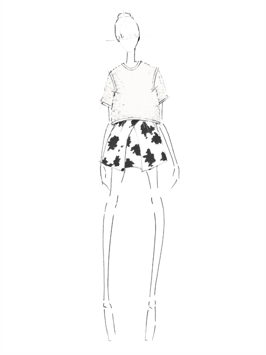 Designers' sketches fall 2014 collections WHIT