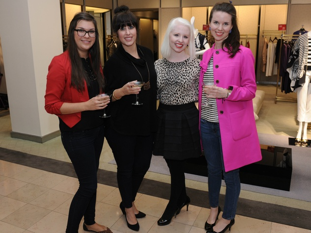 Estelle Garza, Shannon Santos, Mallory Bassham, Sarah Hayes Davis, Fall Into Fashion