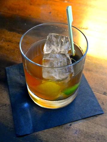 Bar Congress Black Flag rum cocktail