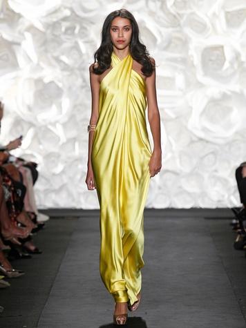 Fashion Week spring summer 2015 Naeem Khan October 2014 LOOK 26