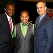 Coach Avery Johnson, Christopher Caldwell and Dan Bailey, just say yes luncheon