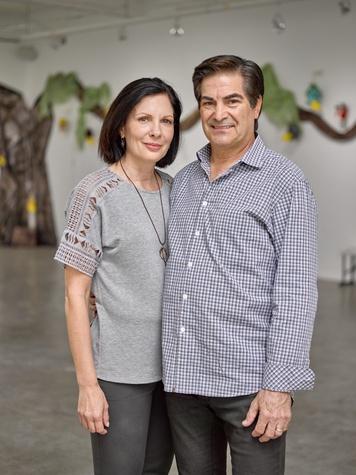 Jeanne Ruberti, James Ruberti at Sawyer Yards Artist Stroll