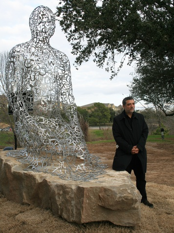 News_sculpture dedication_Jaume Plensa