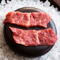 Nara Houston shashimi cooking on hot black rock