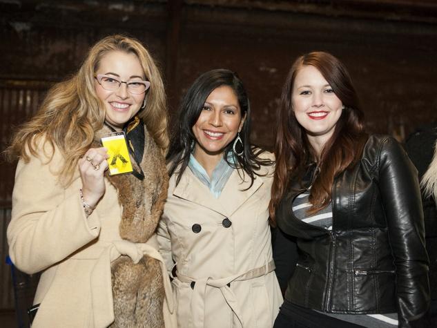 Jessie Martinez, Rachel Hares, Mary McCarthy at Art Con X