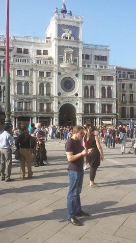 Jane Howze Italy trip Venice October 2014 St. Mark's Square