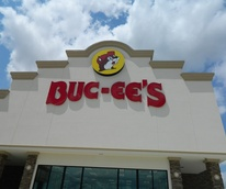 Buc-ee's, convenience store, gas station, rest station