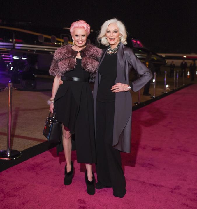 News, Heart of Fashion, Vivian Wise, Carmen Dell'Orefice, Nov. 2015