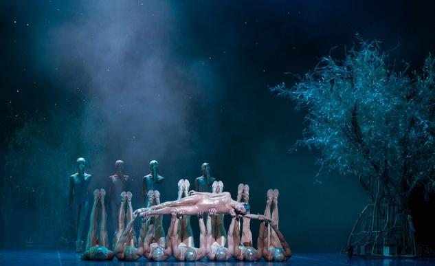 Houston Ballet A Midsummer Night's Dream dress rehearsal pics September 2014 Karina Gonazlez and Artists of HB