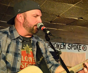 Garth Brooks plays at the Broken Spoke in Austin