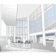 2 Hobby Airport terminal design rendering Meeters and Greeters Hall looking northwest