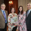 Wayne and Lori Earl, from left, and Lesha and Tom Elsenbrook at the Houston Hospice butterfly luncheon April 2015
