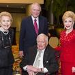 Texas Heart Institute dinner, Feb. 2016, Louise Cooley, Dr. Denton Cooley, Jim Daniels, Margaret Alkek Williams