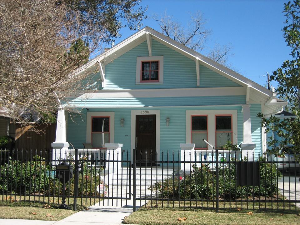 Houston Heights Association Spring Home & Garden Tour April 2015 1638 Harvard