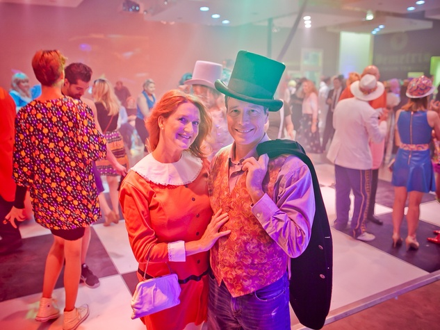 Fresh Arts Gum Ball Gala 2015 Helen Bow and Kevin Baker