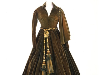 green curtain dress from Gone with the Wind