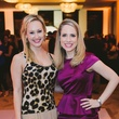 Katie Chachere, left, and Kristin Kruse at Houston Symphony Young Professionals Backstage's Luck be a Lady event November 2013