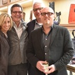 Laurann Claridge, from left, William Zeitz, David Droese and Lance Raney at the Lucchese Grand Opening February 2015