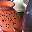 1 Katie Oxford Chi December 2014 Mama's colander, Grandmother's teapot, Great-grandparents pitcher