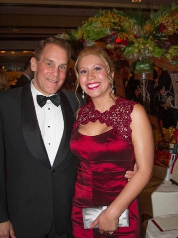 Austin Opera Serenata Wine Dinner & Auction Paul Bancroft Clara Bancroft