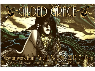 """Art opening reception: """"Gilded Grace"""""""
