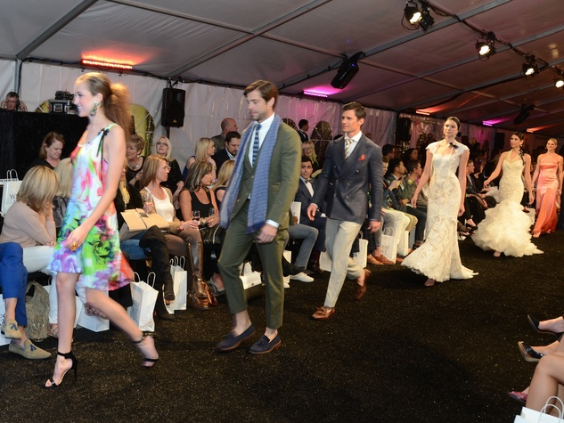 Models at West Ave Fashion on the Avenue March 2014
