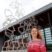 Tara Conley piece HAA at HPD station