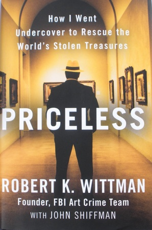News_Robert Wittman_Priceless_book