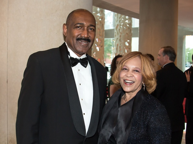 David Brance, Rep. Helen Giddings, dso gala