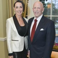 0014, Woodrow Wilson Awards dinner, March 2013, Sue Smith, Lester Smith