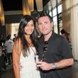 Seena Patel and Wayne Lilly at the Curry Crawl May 2014