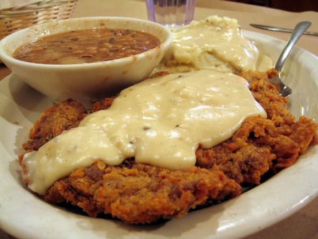 Austin Photo: Places_Food_Broken_Spoke_Chicken_Fried_Steak