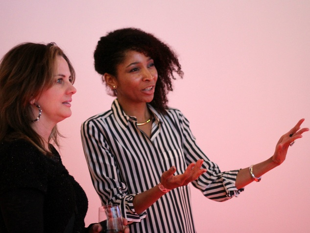 Carmen Menza, Lauren Woods at Zhulong gallery