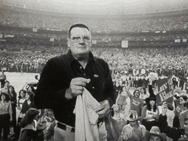 Bum Phillips at the Astrodome
