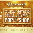 CultureMap Houston graphic for Holiday Pop Up Shop