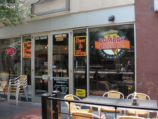 Bombay Pizza Co., Exterior, June 2012