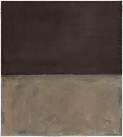 Mark Rothko Retrospective: Untitled, 1969