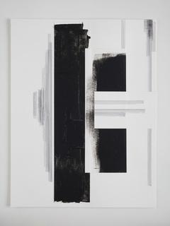 Jennie C. Jones, Vertical into Decrescendo (dark), 2014.